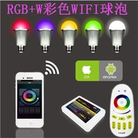 100pc lot Wireless Intelligent LED Mi Light Lamp Bulb 2. 4G W...