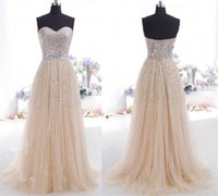 Hot Selling Real Image Cheap Prom Dresses Sweetheart Backles...