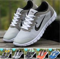 БЕСПЛАТНАЯ ДОСТАВКА Рекламные Скидки новые легкие воздухопроницаемой сеткой мужчин, повседневная обувь кроссовки для взрослых Спортивная обувь Мужская обувь 2016 Горячая Продажа