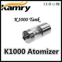 100% d'Origine Kamry Epipe K1000 Atomiseur de Vapeur d'Ecig K1000 Réservoir de Clearomizer de Mèche de la Bobine d'Atomiseurs pour Kamry K1000 Batterie K1000 Ecigarette Kits