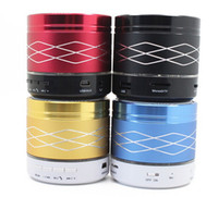 NEW SA20 Bluetooth Speaker LED lumières colorées dynamique mini portable sans fil Music Player pour iPhone Samsung PC portable DHL YEYS