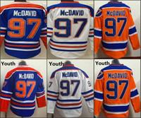97 Connor McDavid 2015 New Season ICE Hockey jerseys Wholesa...