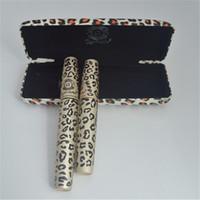 Nuevo rimel impermeable de la marca de fábrica del ALMA del AMOR del rímel de la fibra 3D con la caja del leopardo de la pantera Mascaras 80sets = 160pcs