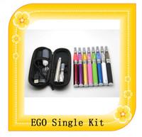 Cigarrillo CE4 ego Starter Kit Electrónico Ego CE4 arranque Kit1 CE4 atomizador 1 650mAh 900mAh 1100mAh Ego Kit individual envían vía DHL