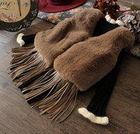 Girls Coat Fashion Warm Vests Girl Dress Tassels Waistcoat F...