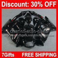 7gifts ALL Black Full Fairing Kit For HONDA CBR600F3 95- 96 C...
