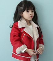 Irregularity Cutting Lapel Zipper Leather Coat For Girls Win...