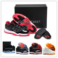 Wholesale Basketball Shoes retro 11 Low Georgetown Grey Men ...