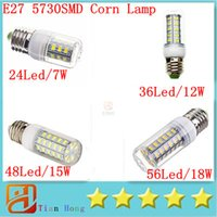 X5 Bright SMD5730 E27 E14 G9 LED lamp 7W 12W 15W 18W 220V 11...