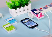 3 IN 1 Universal Two USB Port Battery Dock Charger with US P...