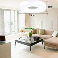 Free shipping Modern simple round Led Ceiling Light Dia 350m...