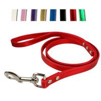 "48"" Metallic PU Leather Dog Puppy Pet Leash Lead Matchi..."