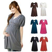 Europe Summer 2015 Pregnant Women Dresses Sexy V Neck Matern...