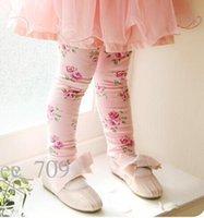Korean Baby girl kids dress tutu skirt matching flower leggi...