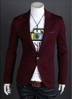 Mens Casual Suits Slim Fit Top Selling korean coats Suit Bla...