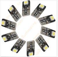 100PCS T10 W5W 2SMD 5050 Canbus Error Free Car LED SMD Light...