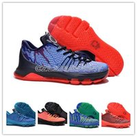 Cheap Basketball Shoes Kevin Durant KD 8 USA INDEPENDENCE DA...