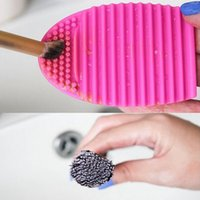 Brushegg Silicone Brush Cleaning Egg Brush Cleaning egg Cosm...