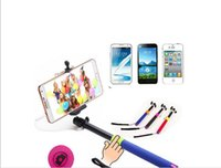 Wired Selfie Stick Handheld Extendable Monopod For iPhone An...