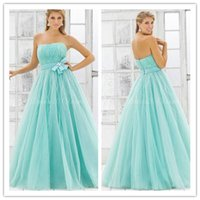 Strapless Prom Dresses with Sequins 2015 New Blush Ball Gown...