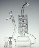Date venir en verre bong recycleur tuyau d'eau de bongs en verre d'oeuf fab qualité de la marque New plate-forme pétrolière avec Nails domeless céramique