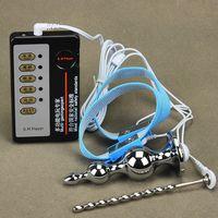 Electro Kit Stainless Steel Penis Urethral Sounding Plug Ele...