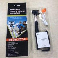 Wireless Bluetooth Monopod Z07- 5 selfie stick Extendable Tri...