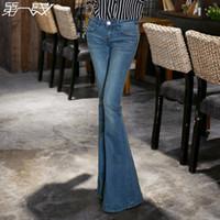Wholesale Plus Size Wide Leg Flare Jeans - Buy Cheap Plus Size