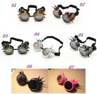 2015 Hot New WELDING CYBER GOGGLES GOTH STEAMPUNK GOGGLES GL...
