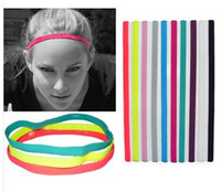 New Elastic Sports Headbands Softball Soccer Yoga Hair Band ...