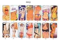 SEXY Girl Drawing Back Case Soft Gel TPU Case Cover for iPho...