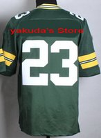 2015 Player White Green Elite Jersey, Customized Various Col...
