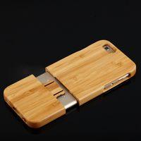 Новейшие моды Природные резного дерева Дела Деревянный трудная крышка случая защитить шаблон для iPhone5 5S 6 6plus