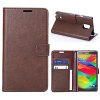 """for 5. 7"""" Samsung Galaxy Note4 Flip Wallet Leather Case ..."""