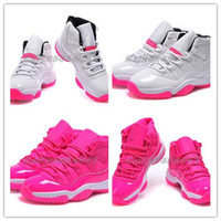 Wholesale Women Basketball Shoes Retro XI(11) Pink Everythin...