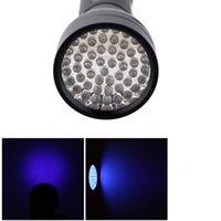 Soldi Stain Gioielli rivelatore UV Torcia 51 LED Torcia UV Blacklight invisibile indicatore dell'inchiostro ultravioletta Viola Chiaro L0409