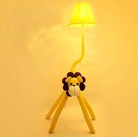 wbuj children' s room cartoon garden floor lamp, bedroom...