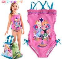 New Summer Cinderella frozen Girls One- Piece Bathing Suit 20...