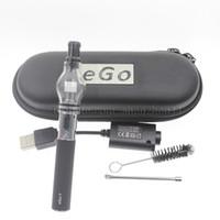 Ego kit t de démarrage avec globe en verre vapeur atomiseur globe atomiseur mieux clearomizer stylo vape vaporisateur cire atomiseur ampoule parfum CA0005