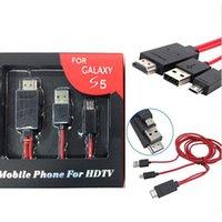MHL Micro USB Adapter HDTV HDMI Cable Full HD 1080P Converte...