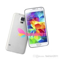 Real 5. 1Inch S5 I9600 Android 4. 4 2G Phone Show 4G network H...