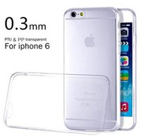New!! 0. 3mm Slim Thin Colorful Transparent Case For iphone 6...