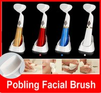 2015 New Pobling Face Brush Eletrical Facial Cleansing Brush...