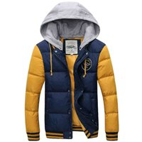 Winter High quality Down Coats for Men Hooded Winter thicken...