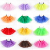 Baby TuTu Skirts pettiskirt girls' skirts for kids Chif...