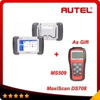 2014 Hot original MaxiDAS DS708 maxidas ds 708 with MS509 as...