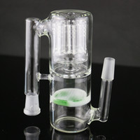 8x bras d'eau pipe cendres cendres Jade nid d'abeille percolateur fumant bong ashcather 18 / 14mm joint bong cendre cather pièce de rechange