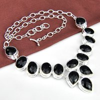 Holiday Party Jewely Gift 925 sterling silver Natural Black ...