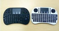 2015 Горячие продажи Портативный мини-клавиатура Rii Мини i8 беспроводная клавиатура с сенсорной панели для ПК Google Andriod Pad TV Box Бесплатная доставка DHL