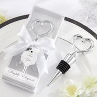 New arrival Wedding Favorl Wine Bottle Stopper Heart shape W...